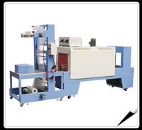 Semi Automatic Sleeve Wrapper With Shrink Tunnel