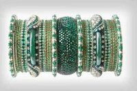 Antiqe lakh bangle Set