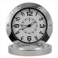 Spy Table Clock Camea