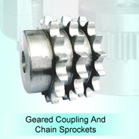 Geared Coupling and Chain Sprocket