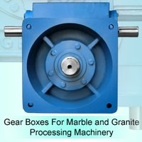 Gear Boxes for Processing Machines