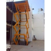 Hydraulic High Raise Scissor Lift