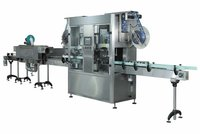 Double Head Shrink Labeling Machine