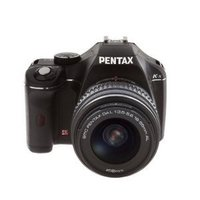 Pentax K-X Digital SLR with 2.7-Inch LCD And 18-55mm F/3.5-5.6 AL Lens (Black)
