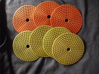 Diamond Metal Chips Polishing Pads