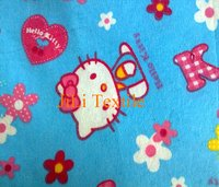 Print Cotton Flannel Fabric