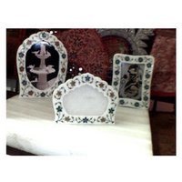 Marble Inlay Picture Frame