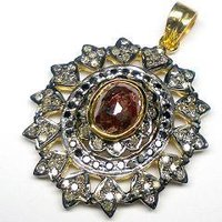 Antique Diamond Pendants