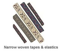 Narrow Woven Tapes and Elastic
