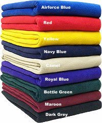 Polar Fleece Plain Blanket