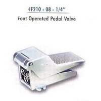 Foot Operated Pedal Valve