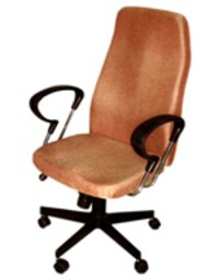Revolving Wrought Iron Office Chair
