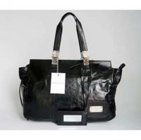 Balenciaga Muberry Kooba Bulga Handbag Black