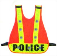 Police Reflective Safety Jacket
