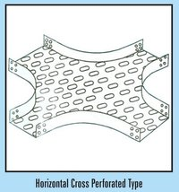 Horizontal Cross Perforated Type Cable Tray