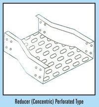 Reducer (Concentric) Perforated Type Cable Tray