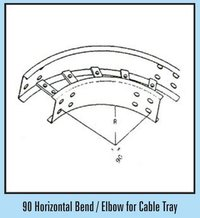 90 Horizontal Bend/Elbow For Cable Tray