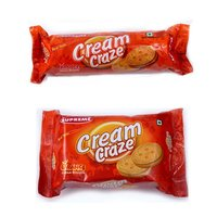 Orange Cream Biscuits