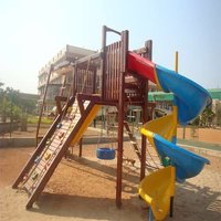 Wooden Castle (Playground Equipment)
