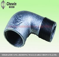 Malleable Iron Pipe Fitting M and F Elbow