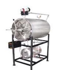 Autoclave Horizontal Cylindrical (Triple Walled)