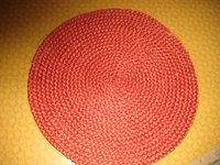 Cotton Braided Round Mat
