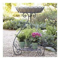 Amira Two-Tier Plant Stand