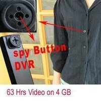 Spy Button Cameras