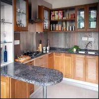 Decorative Stainless Steel Modular Kitchen