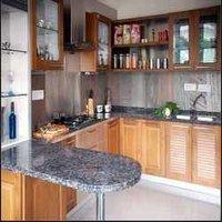 Decorative Stainless Steel Modular Kitchen