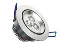 3*1w Led Downlight With 270lm