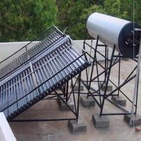 Solar Water Heating System (500 LPD Capacity)