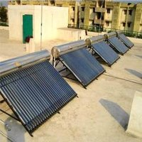 Solar Water Heating System (1000 LPD Capacity)
