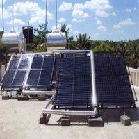 Solar Water Heating System (2500 LPD Capacity)