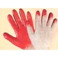 Heavy Duty Nitrile Coated Gloves with Open RIB