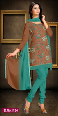 Trendy Suit With Dupatta