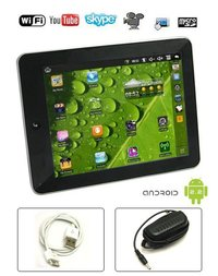 7 Inch VIA 8650 2 Point Touch WIFI Camera External 3G Flash 10.1 Tablet PC