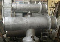 Heat Exchanger With Vent Condenser