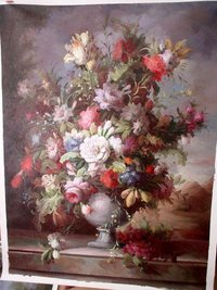 Flower Oil Painting