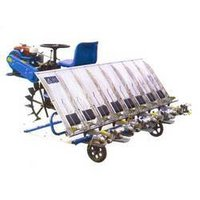 8-Row Ride-On Paddy Transplanter