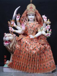 Ambaa Marble Statue With Dress