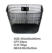 Steel Bicycle Basket