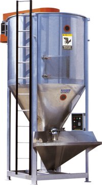 Vertical Plastic Mixer With Stainless Steel