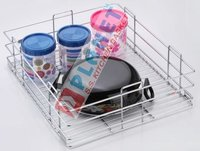 SS Plain Kitchen Basket