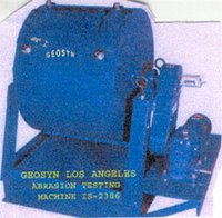 Geosyn Los Angeles Abrasion Testing Machine