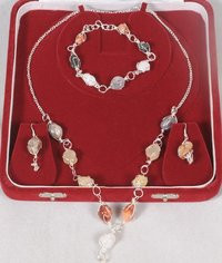 Pinjra Set - Bracelet, Necklace, Earings