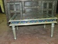 Hand Painted Enamel Meenakari Coffee Table
