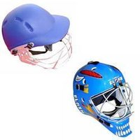 Cricket And Hockey Helmets