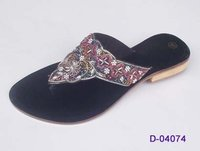 Designer Leather Slipper