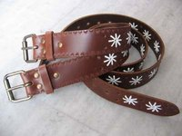 Brown Ladies Leather Belt